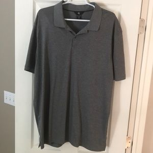 Light Gray Calvin Klein polo XXL